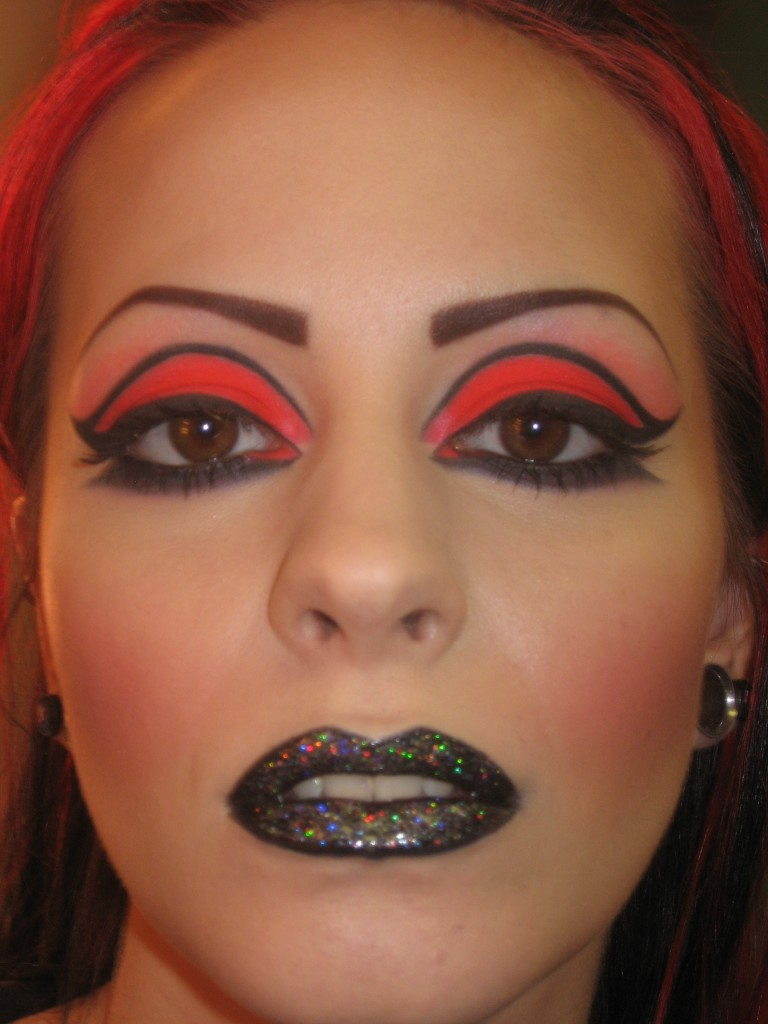 Makeup For Black Lights » Heathyrre Kautz Couture